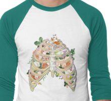 floral ribs Men's Baseball ¾ T-Shirt