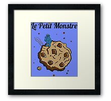 Tshirt The Little Monster - Le petit Monstre Framed Print