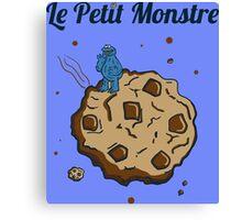 Tshirt The Little Monster - Le petit Monstre Canvas Print