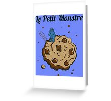 Tshirt The Little Monster - Le petit Monstre Greeting Card