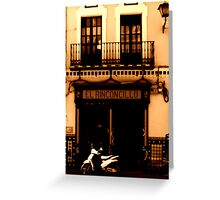 El Rinconcillo (Seville, Spain) Greeting Card