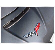 Corvette: 2009 Badge Poster