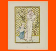 A Day in a Child's Life Myles Birket Foster and Kate Greenaway 1881 0012 In the Garden Kids Tee