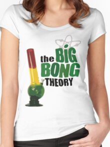 big bong theory Women's Fitted Scoop T-Shirt