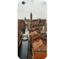Red Roofs of Europe - Venetian Canals, Palaces, Gardens and Courtyards iPhone Case/Skin