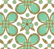Luxury Decorative Pattern Collage by DFLC Prints