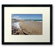 Tidal Wash - Yanchep Lagoon Framed Print