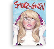 Spider-Gwen Canvas Print