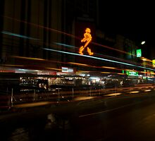 Chiang Mai Night Lights by JerryNelson