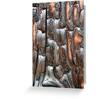 Charred Greeting Card