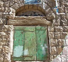 Symbols on the wall (13) - a window in Manakhah by Marjolein Katsma