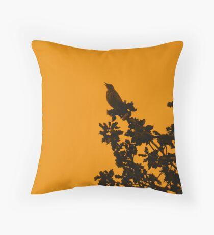 dawn song Throw Pillow