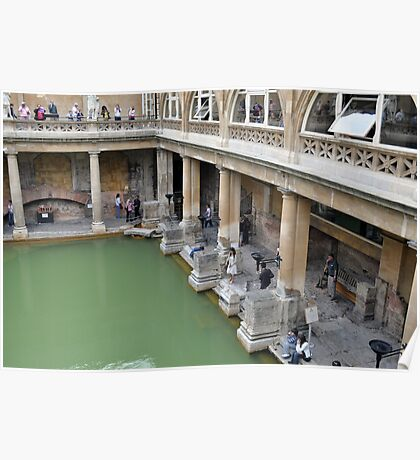 The Roman Baths, Bath, UK Poster