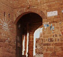 Symbols on the wall (18) - Kawkaban town gate by Marjolein Katsma