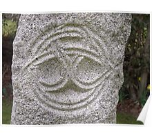Celtic Carving Poster