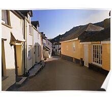 Cornwall: Evening at Port Isaac Poster