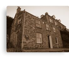 Cornwall: Doc Martin's Cottage Canvas Print