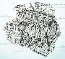 Honda Engine by StephMmm