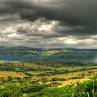 The Calm Before The Storm Panoramic by Clive S