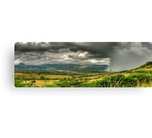 The Calm Before The Storm Panoramic Canvas Print