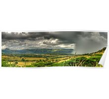 The Calm Before The Storm Panoramic Poster