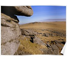 Dartmoor: Looking Towards Roos Tor Poster