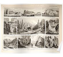 Atlas zu Alex V Humbolt's Cosmos 1851 0175 A Collection of Natural Wonders Poster