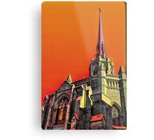Abstract Christianity Metal Print