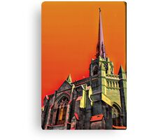 Abstract Christianity Canvas Print