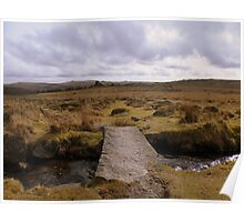 Dartmoor: Bridge Across the Leat Poster