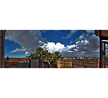 Backyard Panoramic Experience Photographic Print