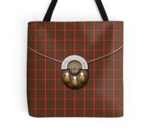 Clan MacKinnon Tartan And Sporran Tote Bag