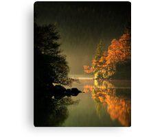 Loch Ard Autumn Glow Canvas Print