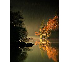 Loch Ard Autumn Glow Photographic Print