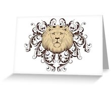 sad lion king design t-shirt Greeting Card