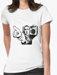 U got the beat Womens Fitted T-Shirt