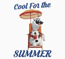 Olaf Frozen Summer Cool Kids Clothes