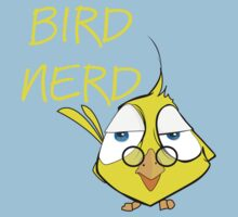 Bird Nerd Funny Ornithology T Shirt One Piece - Short Sleeve