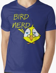 Bird Nerd Funny Ornithology T Shirt Mens V-Neck T-Shirt