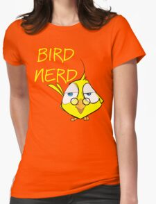 Bird Nerd Funny Ornithology T Shirt Womens Fitted T-Shirt
