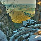 Alpine valleys from Mt Buffalo by Kevin McGennan