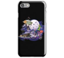 fly to the moon design t-shirt iPhone Case/Skin