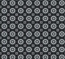 Black Circles Pattern by xorbah