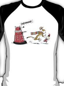 Daleks Calvin and Hobbes T-Shirt