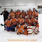 2010 Belfast ice vixens by Alan McNeice