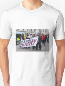Anti austerity march, Hastings Unisex T-Shirt