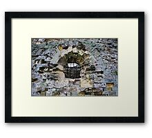 Camber Castle - decay Framed Print