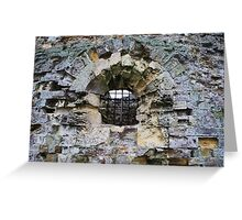 Camber Castle - decay Greeting Card