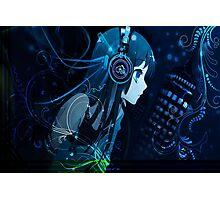 anime dj girl Photographic Print
