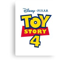 Toy Story 4 Canvas Print
